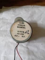 Título do anúncio: Motor Magnetec 12 volts Dc com redução