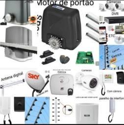 Título do anúncio: MWS segurança eletrônica e antenas