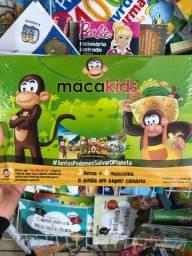 Kit livros e jogos para criança