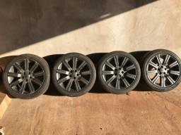 Rodas land Rover aro 20 5x120 c/pneus