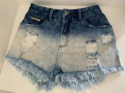 Shorts Jeans Charry Destroyed