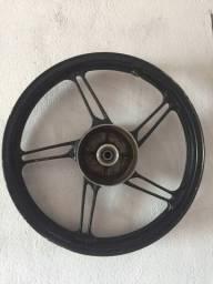 Roda traseira de moto
