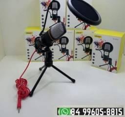 ®Microfone Condensador De Mesa P2