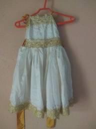 Título do anúncio: Vestido Infantil Social