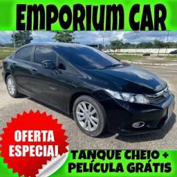 OFERTA RELÂMPAGO!!! HONDA CIVIC LXS 1.8 ANO 2014 COM MIL DE ENTRADA
