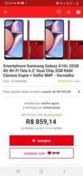 Samsung A10s 10 meses de uso