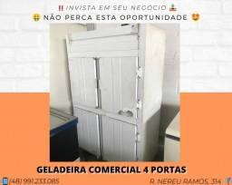 Geladeira comercial 4 portas | Matheus