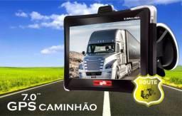 """Título do anúncio: GPS para Caminhão e Carreta 7.0"""" Quatro Rodas"""