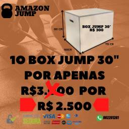 Caixote Crossfit 30 / Jump Box/ - Kit Com 10 Unid 75x60x50