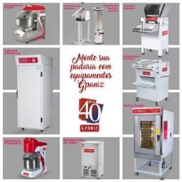 Título do anúncio: Ricardo amassadeira .cilindro,forno turbo, camara de fermentação , monte seu seu negocio