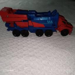 Título do anúncio: Bonecos Transformers: Optimus Prime e Sideswipe