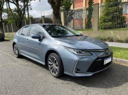 Toyota Corolla Altis 2.0 Automático 2020, único dono, teto solar
