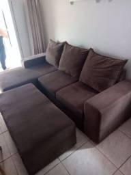 Título do anúncio: Troco jogo de sofa por cama nova