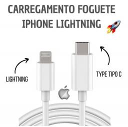 Cabo Tipo C Lightining P/ IPhones, iPads Pro,Air,e iPods Touch