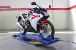 Elevador pneumático para moto 250kg