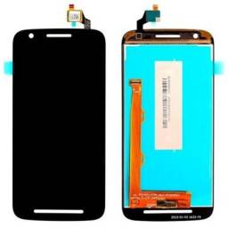 Tela Frontal Touch Display Motorola E1 E2 E4 E4 Plus