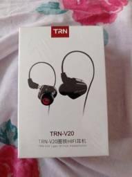 Fone de ouvido in-ear KZ Trn V20