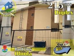 Duplex no Bultrins, 215 mil