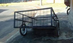Vendo  carrinho 150 por 130 com rodas de  mobilett