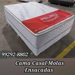 Título do anúncio: cama box molas ensacadass////