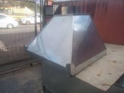 Coifa em Aço Galvanizado