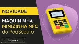Maquininha Pag Seguro - Minizinha NFC - Bluetooth