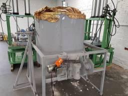 Forno basculante e prensas para fundição