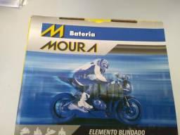 Título do anúncio: Bateria Moura hornet  R1 cb1000 ma8,6-e entrega  todo  Rio