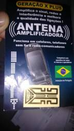 Antena amplificadora sinal celular - ultrafina adesiva