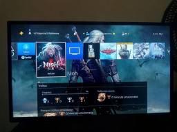 PS4 versão americana + jogos + 1 controle