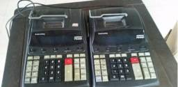 Lote 5 Calculadoras Bobina 12 Dígitos - sharp/procalc