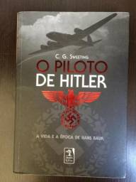 Livro O Piloto de Hitler - C.G. Sweeting