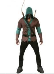 Fantasia Arrow Arqueiro Verde - Usada apenas 1x