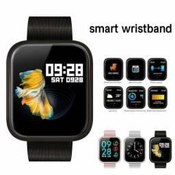 O verdadeiro Smartwatch P70 P68 Bluetooth 4.0 À Prova D' Água