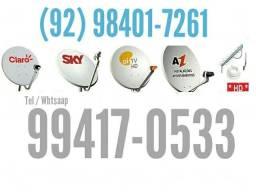 Técnico em antena - (Oi Claro SKY Parabólicas Tv digital .)