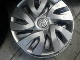 Calota da roda de ferro aro 17 Honda HRV Prata original 5 furos encaixe