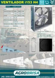 Ventilador i153 h4 para compost e free stall