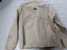 Jaqueta lona masculina