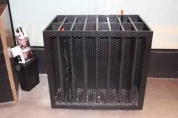 Expositor / Organizador de Produtos Air Soft Loja em MDF Preto