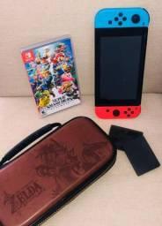 Aproveita!!!! Switch + Mário + Case