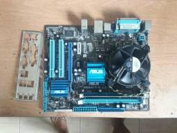 Kit Placa Mãe Asus 775 DDR3