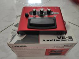 Pedaleira vocal ve-2 boss seminovo