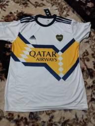 Camisa Boca jrs uniforme 2 2020