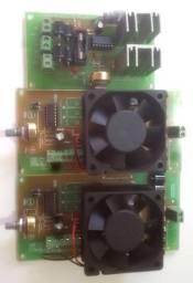 Placas pwm 12v e amperimetro veicular
