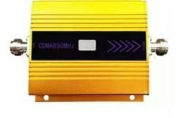 Kit Repetidor Sinal Celular 850mhz Voz Internet 3g/4g 65dbi