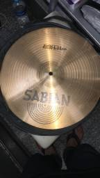 Pratos para bateria sabian b8hi-hats 14/36 cm