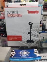 Suporte Tripé Microfone Tomate - Produto Novo. Dell Variedades