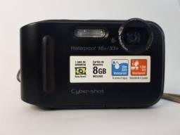 Câmera compacta Cyber-shot DSC TF1 Waterproof.