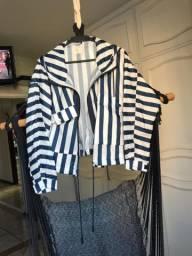 jaqueta listrada