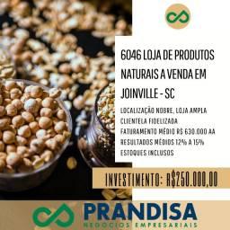 6046 Linda loja de produtos naturais em localização nobre em Joinville